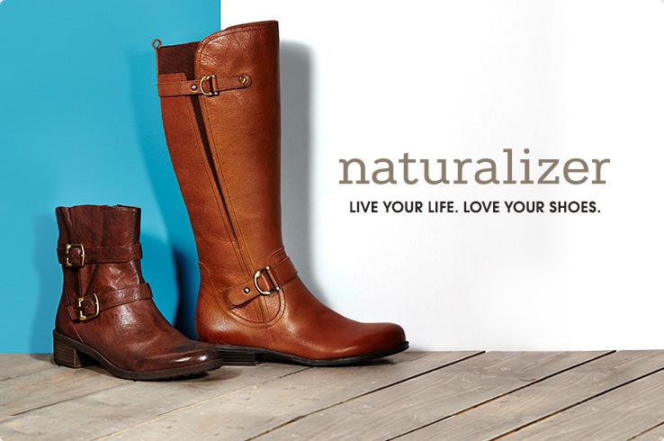 naturalizer boots hsn