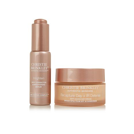 Christie Brinkley Anti-Aging Brighten Up Duo