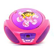 Dora the Explorer AM/FM Radio and CD Boombox