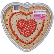 "Giant Cookie Pan - Heart 11-1/2"" x 10-1/2"" x 3/4"""