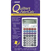 Quilter's FabriCalc-Quilt Design and Fabric Calculator