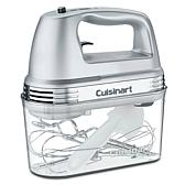Cuisinart 9-Speed Chrome Hand Mixer with Storage Case