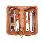 Royce Mini-Manicure Travel Set with Leather Case