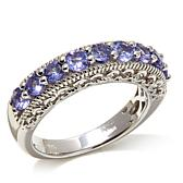 Victoria Wieck 0.85ct Tanzanite Sterling Silver Ring