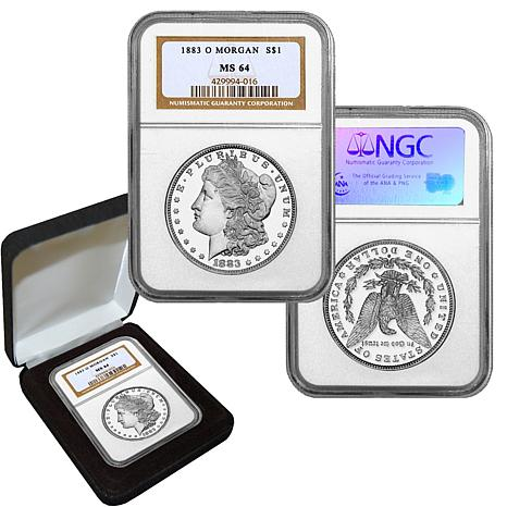 1883 MS64 NGC O-Mint Morgan Silver Dollar