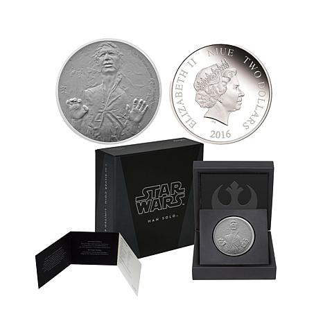 2016 Star Wars 1 Oz Silver 2 Commemorative Proof Coin