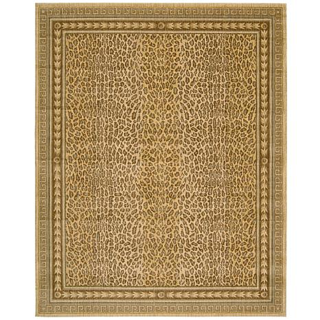 "Andrea Stark Home Collection Leopard Rug - 7'6"" x 9'6"""