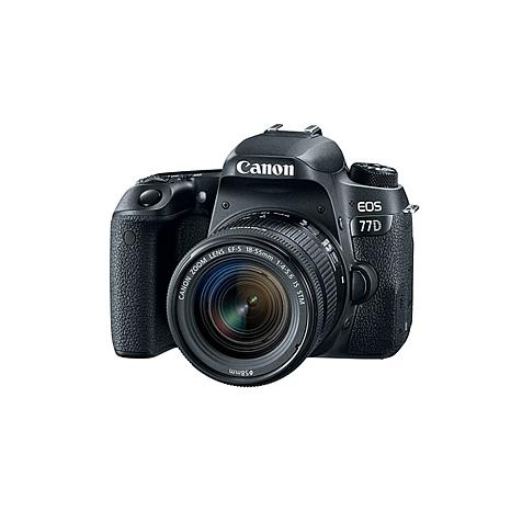 canon eos rebel 77d dslr camera with 18 55mm lens with