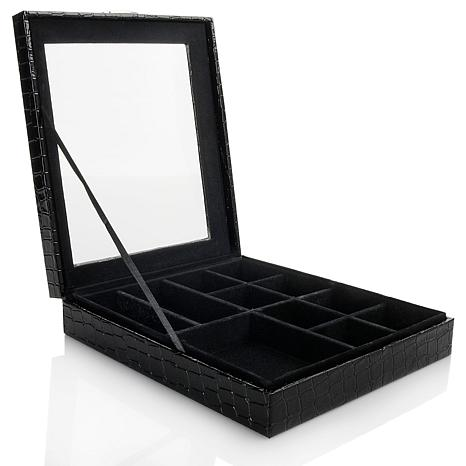 Colleen's Prestige™ Croco-Embossed Small Everything Box