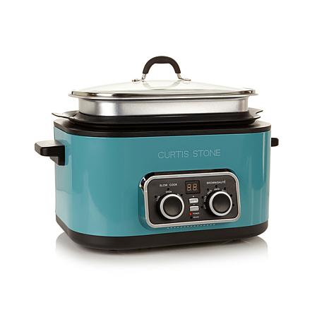 Curtis Stone 6qt 5-in-1 Multicooker with 3qt Extender Ring