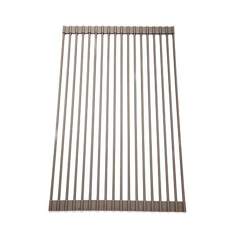 curtis stone roll up drying rack and trivet 8132778 hsn. Black Bedroom Furniture Sets. Home Design Ideas