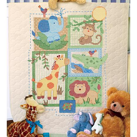 Dimensions Baby Hugs Savannah Quilt Stamped Cross-Stitch ...