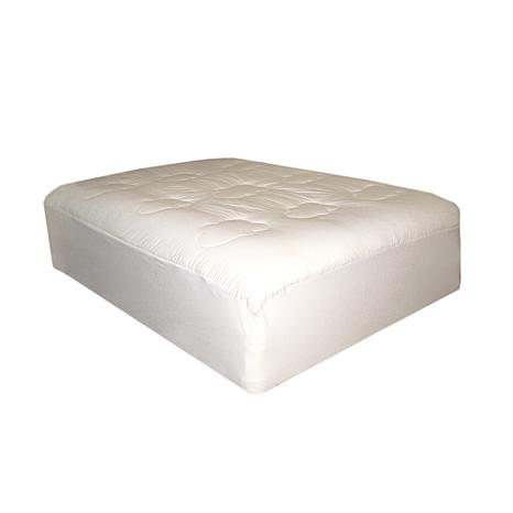 Lofted Cotton Filled Twin Mattress Pad 6366509 Hsn