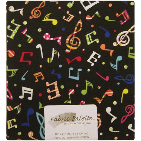Fabric Palette 1/4-Yard 100% Cotton Fabric - Music ...