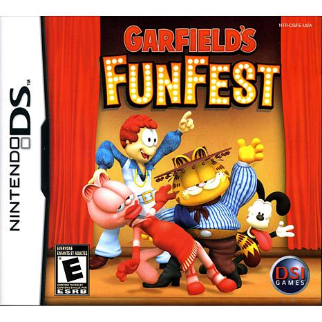 garfield 2 ds: