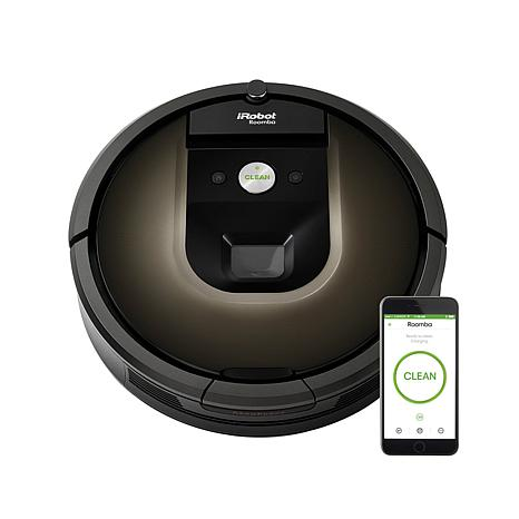 irobot roomba 980 robotic vacuum 7983250 hsn. Black Bedroom Furniture Sets. Home Design Ideas