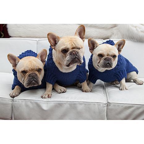 Isabella Cane Royal Blue Dog Sweater