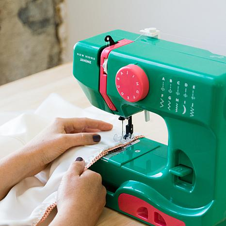 janome new home portable sewing machine 7551766 hsn. Black Bedroom Furniture Sets. Home Design Ideas