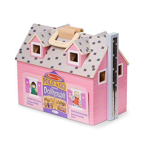 Fold Go Dollhouse 6953061 Hsn