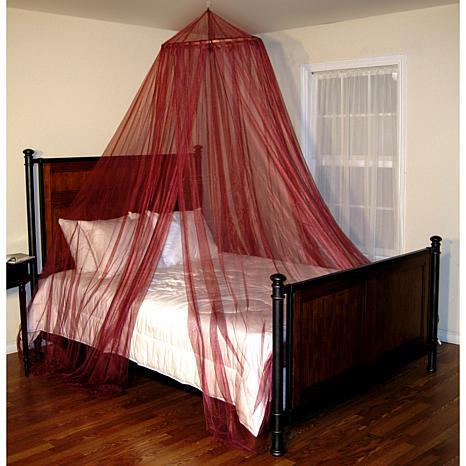 round bed canopy 6366534 hsn