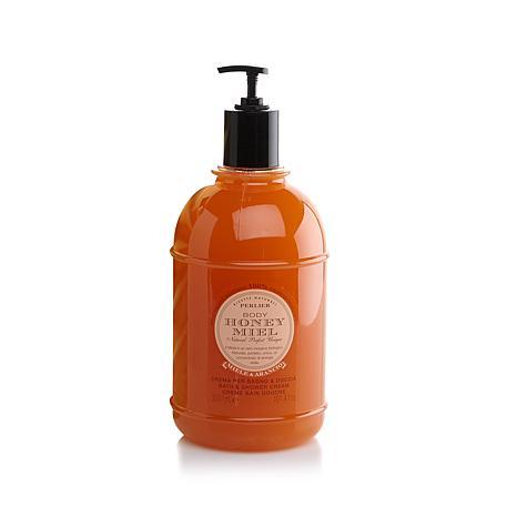 perlier 3 liter honey orange bath shower cream hsn