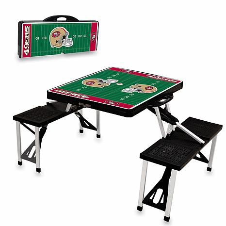 Picnic Time Picnic Table Sport - San Francisco 49ers