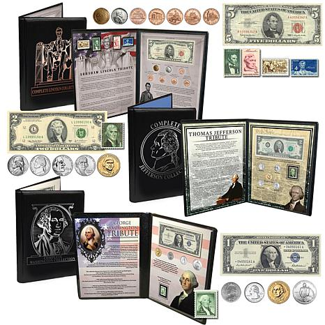 Presidential Coin, Stamp and Currency Collections