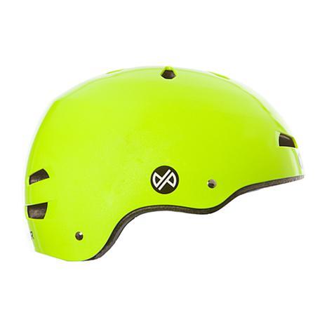Punisher Premium Metallic Flaked Neon Yellow Youth #2: punisher premium neon yellow youth skateboard helmet d w alt3