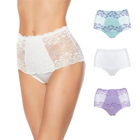 055a4750df5 Rhonda Shear Lace Overlay Pin-Up Brief 3-pack - 8538903