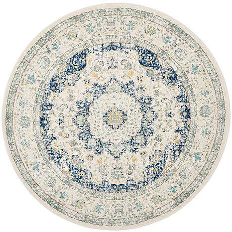 """safavieh evoke imogen '"""" x '"""" round rug    hsn, 7 foot diameter round rugs, 7 foot round rugs, 7 ft round rugs"""