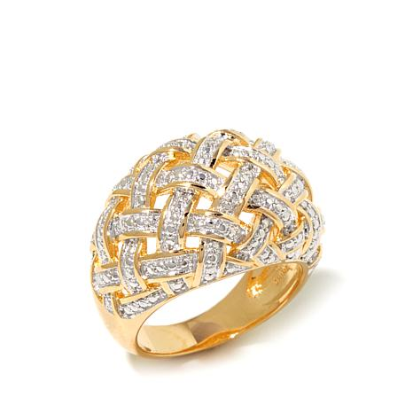 Diamond accent basketweave dome ring d 2016042018204397 476924 jpg