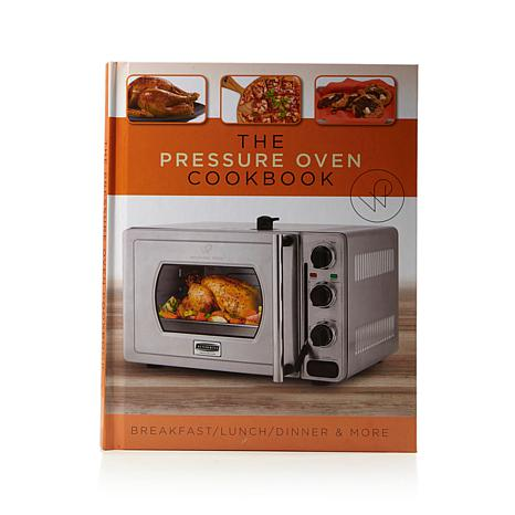 Hsn wolfgang puck essential 22 liter stainless steel for Wolfgang puck pressure oven