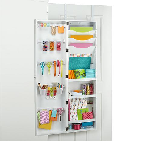 Hsn We R Memory Keepers Over The Door Craft Armoire