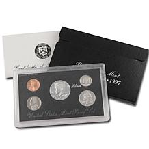 1997 S-Mint Silver Proof Set In Original Packaging