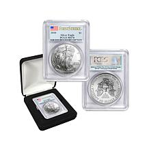 2010 MS70 PCGS First Strike Silver Eagle Dollar Coin