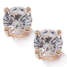 3ct Absolute™ Round 4-Prong Stud Earrings