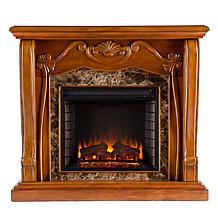Carbondale Electric Fireplace - Walnut
