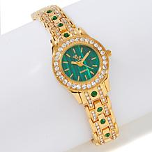 Colleen Lopez Gemstone Dial Bracelet Watch