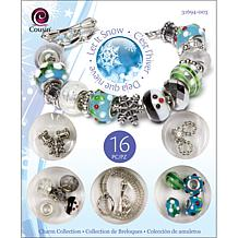 Cousin Christmas Trinket Bead Kit - Snowman