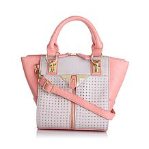 "Danielle Nicole ""Alexa"" Perforated Tote"