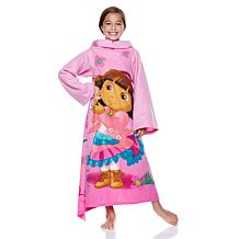 Dora the Explorer Youth Comfy Throw with Sleeves
