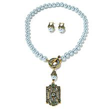 "Heidi Daus ""Classic Edition"" Necklace and Earrings Set"