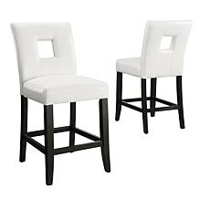 Home Origin Squared Back Counter Height Chairs - 2