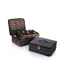 Joy Mangano Jewel Kit 2-Tier Jewelry Box BUY 1 GET 1