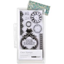 "Kaisercraft Duchess Clear Stamps 8-1/4"" Sheet"