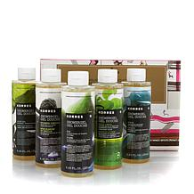 Korres 5-piece Creamy Hydrating Shower Gel Collection