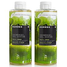 Korres Basil Lemon Shower Gel 2-pack