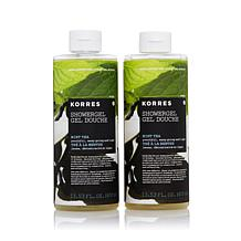 Korres Mint Tea Shower Gel Duo