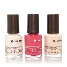 Korres Nail Color Trio - In the Pink