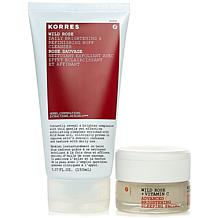 Korres Wild Rose Radiance Revealed Brightening Duo